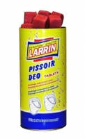 Tablety do pisoáru Larrin - 900 g, jahoda, 35 ks