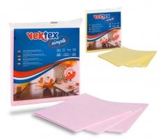 Rychloutěrka Vektex Simple - prachovka, 38x38 cm, mix barev, 3 ks