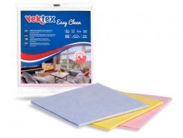 Rychloutěrka Vektex Easy Clean - 38x38 cm, mix barev, 3 ks