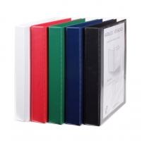 Čtyřkroužkový katalogový vazač A4 Personal D30 - hřbet 5 cm, tvrdý plast, zelený
