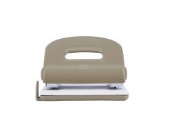 Děrovačka Deli E0119 - 25 listů, kovová, šedo-bílá