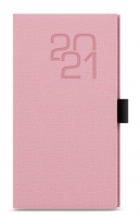 Týdenní diář Jakub-fabric - kapesní, růžový