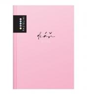 Denní diář Pastelini - A5, růžový