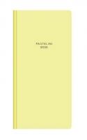 Měsíční diář Pastelini-PVC - kapesní, žlutý