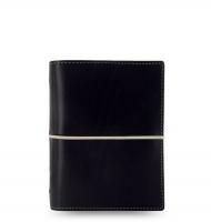 Kapesní diář Filofax Domino - 145x117x34 mm, černý