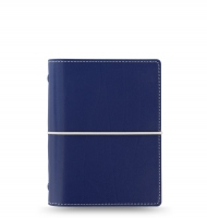 Kapesní diář Filofax Domino - 145x117x34 mm, modrý