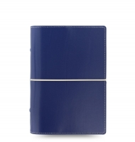 Osobní diář Filofax Domino - 190x133x35 mm, modrý