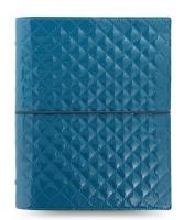 Diář Filofax Domino Luxe - A5, modrý