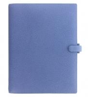 Diář Filofax Finsbury - A4, modrý