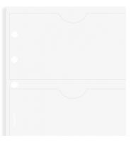 Náplň do diáře Filofax - osobní, pouzdro na 6 ks vizitek