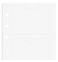 Náplň do diáře Filofax - A5, pouzdro na 8 ks vizitek