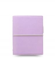Kapesní diář Filofax Domino Soft - 145x117x34 mm, pastelově fialový