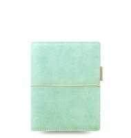 Kapesní diář Filofax Domino Soft - 145x117x34 mm, pastelově zelený