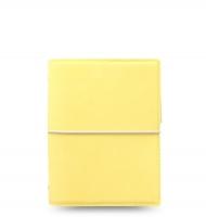 Kapesní diář Filofax Domino Soft - 145x117x34 mm, pastelově žlutý