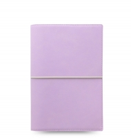 Osobní diář Filofax Domino Soft - 190x133x35 mm, pastelově fialový