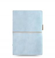 Osobní diář Filofax Domino Soft - 190x133x35 mm, pastelově modrý