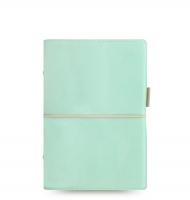 Osobní diář Filofax Domino Soft - 190x133x35 mm, pastelově zelený