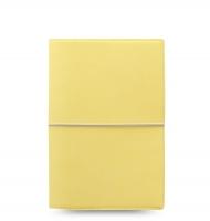 Osobní diář Filofax Domino Soft - 190x133x35 mm, pastelově žlutý