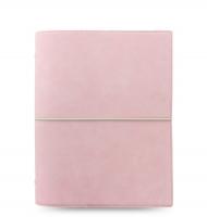 Diář Filofax Domino Soft - A5, pastelově růžový