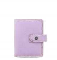 Mini diář Filofax Malden - 120x98x30 mm, pastelově fialový