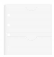 Náplň do diáře Filofax - A4, pouzdro na vizitky