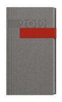 Denní diář Filip-vigo - kapesní, šedý