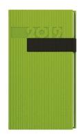Denní diář Filip-vigo - kapesní, zelený