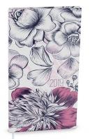 Denní diář Filip-lamino - kapesní, květy