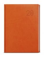 Denní diář Adam-vivella - B6, oranžový