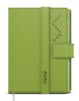 Denní diář Ctirad s výsekem-manager color - A5, zelený