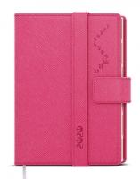 Denní diář Ctirad s výsekem-manager color - A5, růžový