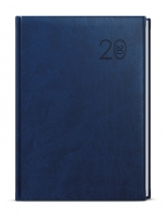 Denní diář David-vivella - A5, modrý