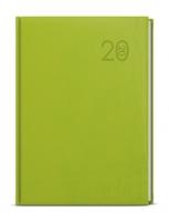 Denní diář David-vivella - A5, zelený