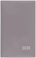 Týdenní diář Alois-PVC - kapesní, šedý