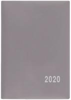 Měsíční diář Anežka-PVC - kapesní, šedý