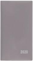 Měsíční diář Františka-PVC - kapesní, šedý