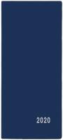 Měsíční diář Xenie-PVC - kapesní, modrý