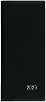 Měsíční diář Xenie-PVC - kapesní, černý