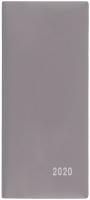 Měsíční diář Xenie-PVC - kapesní, šedý