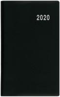 Měsíční diář Diana-PVC - 9x17 cm, černý