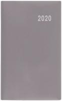 Měsíční diář Diana-PVC - 9x17 cm, šedý