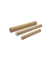 Papírový tubus 50 cm - průměr 8 cm, hnědý