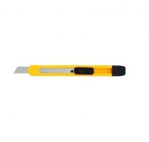 Odlamovací nůž Deli E2051 - 9 mm, plastový, žlutý