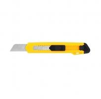 Odlamovací nůž Deli Essential E2001 - 18 mm, plastový, žlutý