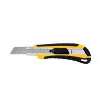 Odlamovací nůž Deli E2064 - 18 mm, plastový, žlutý