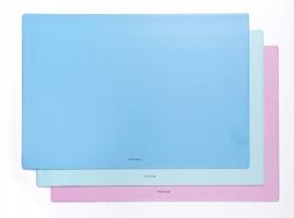 Podložka na stůl Pastelini - plastová, 40x60 cm, růžová