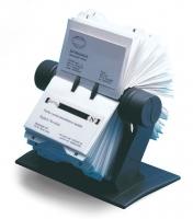 Pořadač na vizitky Rotacard RV-225 - vizitkář, černý