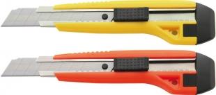 Odlamovací nůž s vodící lištou SX70 - čepel 18 mm, plastový, mix barev