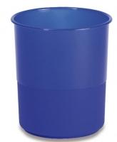 Odpadkový koš 15 l Chemoplast - plastový, modrý - DOPRODEJ