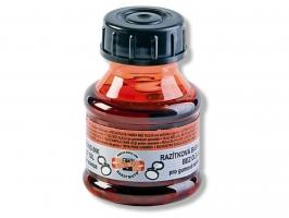Razítková barva Koh-i-noor - červená, 50 g